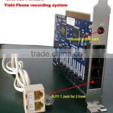 8lines Telephone Recording card DAR-8CH PCI Card