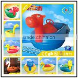 Non-inflatable Remote control panel motorized bumper boat with greatful and most competitive price