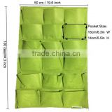 Vertical Wall-mounted Polyester FELT Wall Planting Bags Flower Grow Bag Wall Garden Planter Bags Plant Nursery Bag