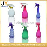 High quality OEM colorful Plastic cosmetic plastic pump spary bottle toner / lotions / gel water / perfume spray bottle