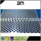 Thick titanium lowest price perforated sheet piece