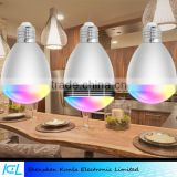 APP control lighting bulb E27 smart wireless led bluetooth speaker bulb lamp audio music playing