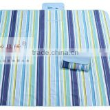 beach mat with pillow/outdoor stone mat/folding picnic mat