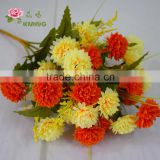 mini artificial sik flower for interior decoration