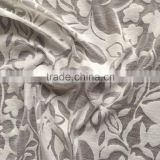 white polyester cotton knit jersey burn-out mesh fabric,knit burn-out print fabric for dress