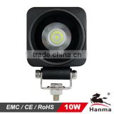 CREE LED 10W LED truck light,tractor,trailer,ATV,Jeep, Suv,boat,mining, adjusted to 20W30W,12V/24V