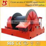 New Designed JM JK Type Wire Rope Electric Winch Slip way, ship, dry dock use cheap crane machines