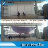 High performance milk white switchable smart glass film for office buildings