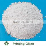 High quality transparent printing glaze ceramic glaze powder for ceramic borders glazes materials
