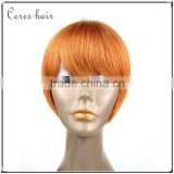 factory wholesale high quality heat resistant fiber carnival cosplay wig fashion beautiful Christmas party wig