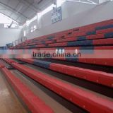 sport facility seatway indoor retractable tribune telescopic bleacher folding plastic seating flex grandstand. portable bleacher