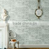 modern design pvc living room 3d effect brick wallpaper for home walls decoration                                                                                                         Supplier's Choice
