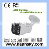 IP66 waterproof ahd bullet IR Camera dot matrix coaxial cable 500meter HD Products cctv system