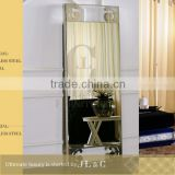 JM11-2 Floor Mirror Stainless Steel Stand for Luxury Bedroom Sets-JLC Luxury Home Furniture