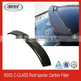 CARBON FIBER REAR WING ROOF SPOILER FOR MERCEDES BENZ 01-06 W203 C-CLASS C180 C200 C230