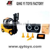 1:20 6 channel RC forklift truck mini construction car