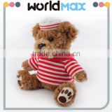 New Arrival Most Popular Red Sailor Teddy Beach Toys For Girls