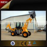 Digging machine mini backhoe loader with auger or hydraulic hammer