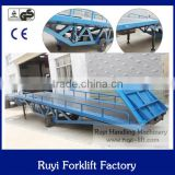 AC Powered Hydraulic Electric Dock leveler loading ramp