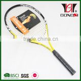 GX-511 yellow best sale aluminium alloy overgrip tennis racquet with classic tennis racket mould