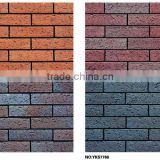 brick wall panel,red clay split tile,outside wall split tile,stone wall facade tile,facade curtain wall panel,outdoor wall tile