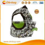 "13.4~16.5"" White Base Green Color Dog Harness Safety Pet Vest, Free Shipping on 49usd order"