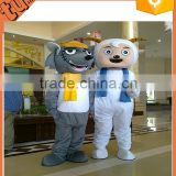 2015 hot sale adult plush animal walking cartoon costume /sexy adult animal movie costume for advertising made in china