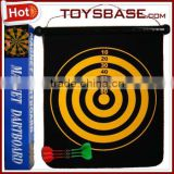 Portable funny magnetic dart board for kids