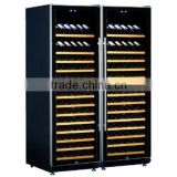 Fan cooling portable electric cooler display home bar wine cabinets made in china wine coolers