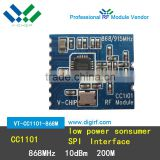 CC1101 433Mhz wireless module transceiver and receiver low power 200M RF module