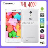 "In Stock THL 4000 4.7"" IPS qHD Android 4.4 MTK6582M Quad Core 3G Unlocked Mobile Cell Phone 5MP CAM 1GB RAM 8GB ROM OTG WCDMA"