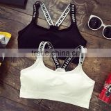 China oem service womens clothing beautiful sexy bra design wholesale sports bra custom seamless seamless bra