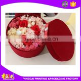 Cheap Price Round shipping hat boxes for flower packaging