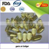 online shop bulk buy from china GMP certificated garlic oil softgel capsule 1300mg