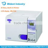 LCD display Dental Steam Sterilizer Price, Steam Sterilizer Autoclave with Built-in Printer
