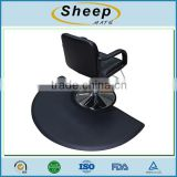 Anti slip and anti fatigue waterproof pvc beauty chair barber mat