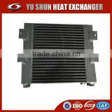strong durable plate and bar heavy duty truck oil cooler