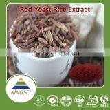 GMP factory supply natural plant extract Lovastatin/Monacolin K/ red yeast rice extract 0.4%, 1% 1.5% ,2%,2.5% 3% by HPLC