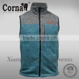 Hot selling fashion design cheap customized windproof durable outdoor sleeveless denim jacket for men with great price