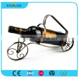 Car Shape Single Wine Bottle Holder/Wrought Iron Wine Rack XQ1315