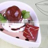 New arrival tools high temperature resistant white drop roast bowl cheece souffle cup pudding mold