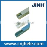 JINH PVC Wiring ducts PVC cable cover trunking plastic flexible wiring ducts grey wiring duct