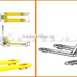 Hydraulic hand pallet jack with different loadings wholesale pallet jack pallet truck for warehouse