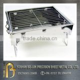 Custom blue coating battery operated bbq grill