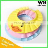 2015 soft stretchy hairdressing washing hat baby shampoo cap