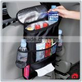 creative folding Auto on-board kids Back Seat Car Storage Bag Organizer