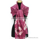 100% silk scarf by digital print, high-end printed personalized design/ Silk Scarves Manufacturer Vietnam