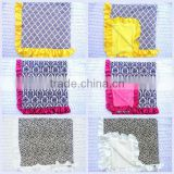Wholesale baby cotton blanket fashion adults tv blanket