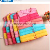 Baby cloting baby vest winter cotton dress child baby down jacket OEM