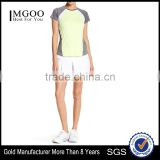 MGOO Fashionable Tops And Pleated Shorts Sport Suit Dri Fit Tracksuit Running Wear Sport Wear Woman Fitness